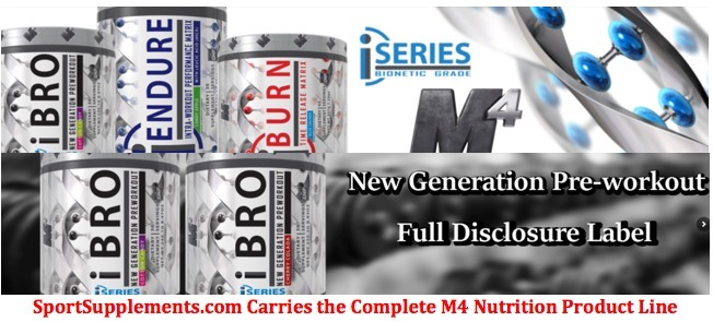 M4 Nutrition Product Line
