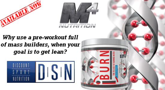 M4 Nutrition iSeries iBurn Preworkout