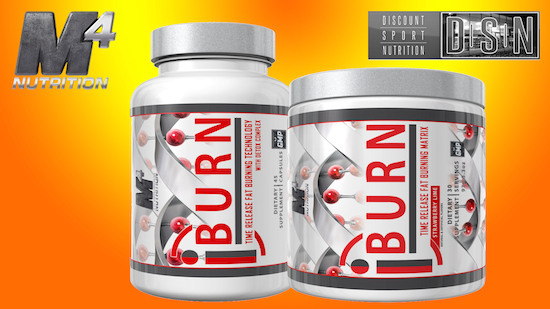 iBurn Products by M4 Nutrition