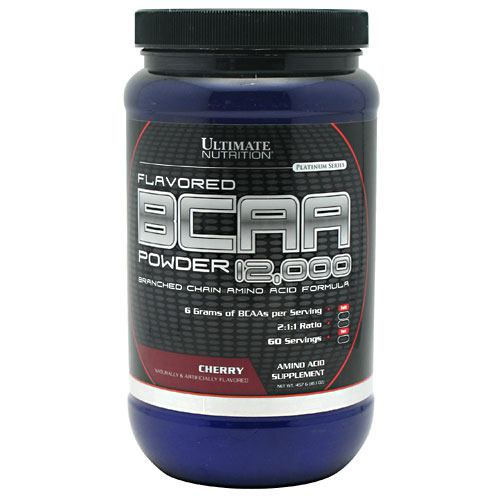 Ultimate Nutrition BCAA 12,000 - Cherry - 457 g