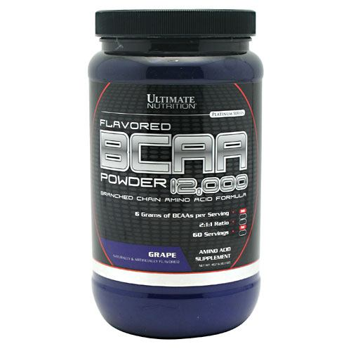 Ultimate Nutrition BCAA 12,000 - Grape - 457 g