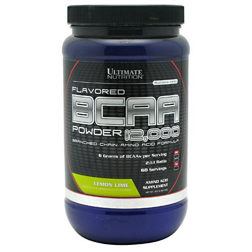 Ultimate Nutrition BCAA 12,000 - Lemon Lime - 457 g
