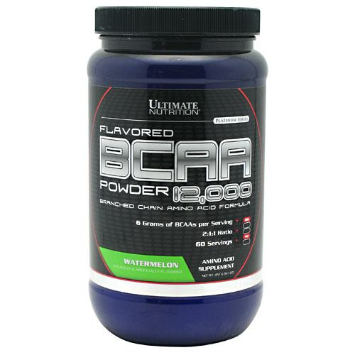 Ultimate Nutrition BCAA 12,000 - Watermelon - 457 g