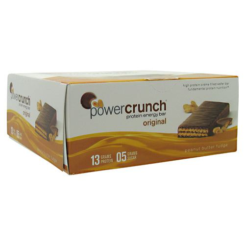 BNRG Power Crunch - Peanut Butter Fudge - 12 ea