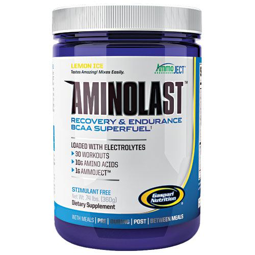 Gaspari Nutrition Amino Last - Lemon Ice - 30 ea