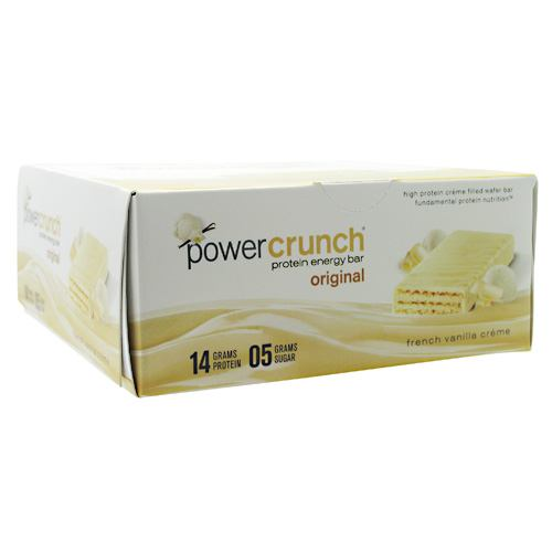 Power Crunch Power Crunch - French Vanilla Creme - 12 ea