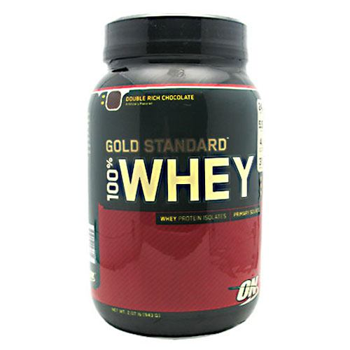 Optimum Nutrition Gold Standard 100% Whey - Double Rich Chocolate - 2 lb