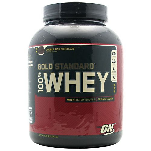 Optimum Nutrition Gold Standard 100% Whey - Double Rich Chocolate - 5 lb