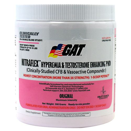 GAT Nitraflex - Fruit Punch - 300 g
