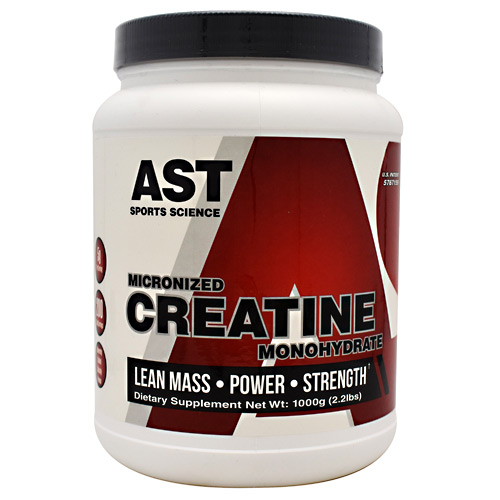 AST Sports Science Micronized Creatine Monohydrate - 1000 g