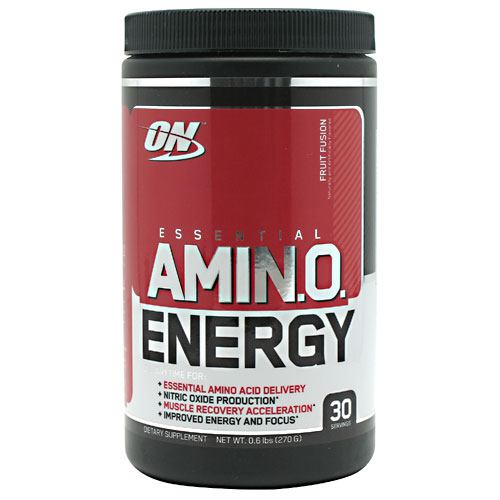 Optimum Nutrition Essential Amino Energy - Fruit Fusion - 30 ea