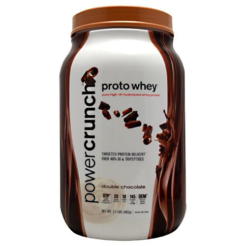 BNRG Power Crunch Proto Whey - Double Chocolate - 2 lb