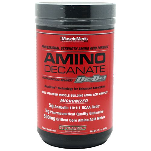 Muscle Meds Amino Decanate - Watermelon - 12.7 oz