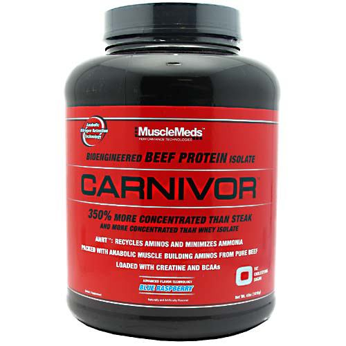 Muscle Meds Carnivor - Fruit Punch - 4 lb