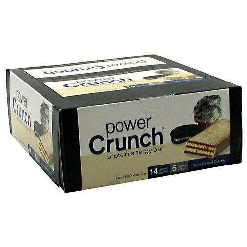 Power Crunch Power Crunch - Cookies and Creme - 12 ea