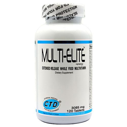 CTD Multi-Elite+Energy - 120 ea