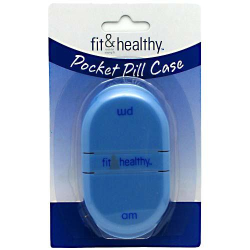 Fit & Fresh Pocket Pill Case - 1 ea
