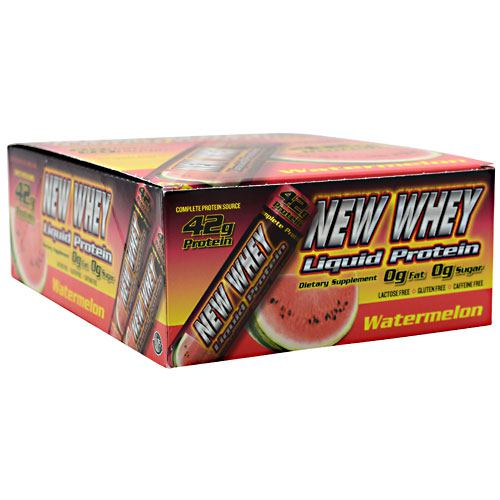 New Whey Nutrition New Whey Liquid Protein - Watermelon - 12 ea