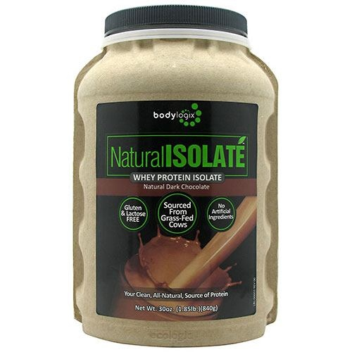 The Winning Combination Natural Isolate Whey Protein Isolate - Natural Dark Chocolate - 1.85 lb