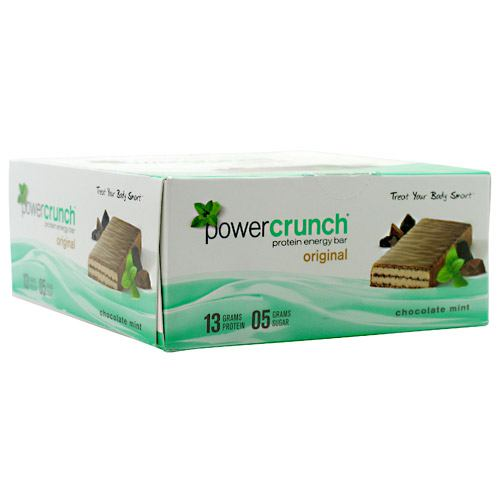 Power Crunch Power Crunch - Chocolate Mint - 12 ea