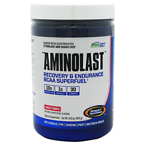 Gaspari Nutrition Amino Last - Fruit Punch - 30 ea