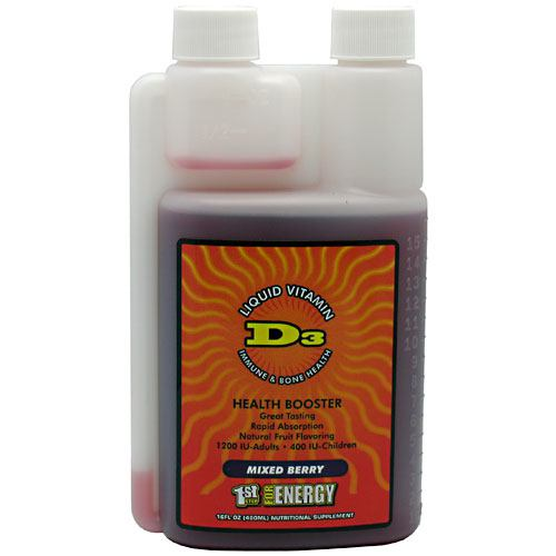 1st Step for Energy Liquid Vitamin D3 - Mixed Berry - 16