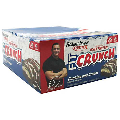 Fit Crunch Bars Fit Crunch Bar - Cookies & Cream - 88 g