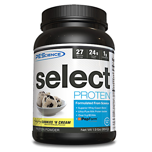 PEScience Select Protein - Amazing Cookies 'n Cream - 27 ea