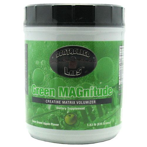 Controlled Labs Green MAGnitude - Sour Green Apple Flavor - 1.83 lb