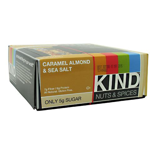 Kind Snacks Kind Nuts & Spices - Caramel Almond & Sea Salt - 12 ea