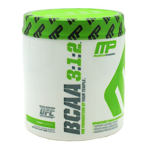 Muscle Pharm Core Series BCAA 3:1:2 - Unflavored - 0.47 lb