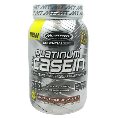 MuscleTech Essential Series 100% Platinum Casein - Milk Chocolate - 1.83 lb