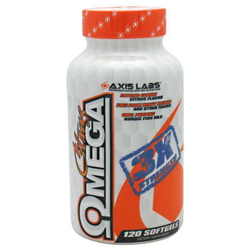 Axis Labs Citrus Omega - 120 ea