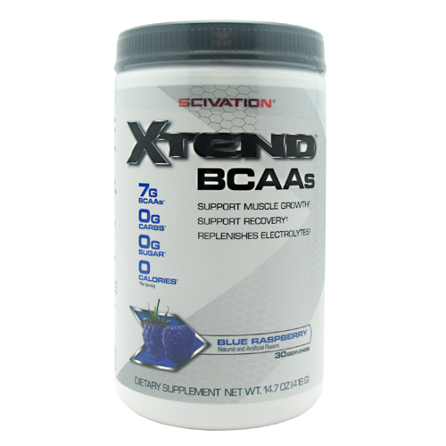Scivation Xtend - Blue Raspberry - 30 ea