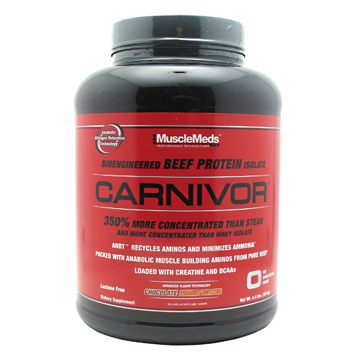 Muscle Meds Carnivor - Chocolate Peanut Butter - 4.4 lb