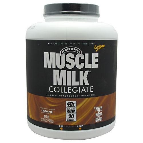 CytoSport Collegiate Muscle Milk - Chocolate - 5.29 lb