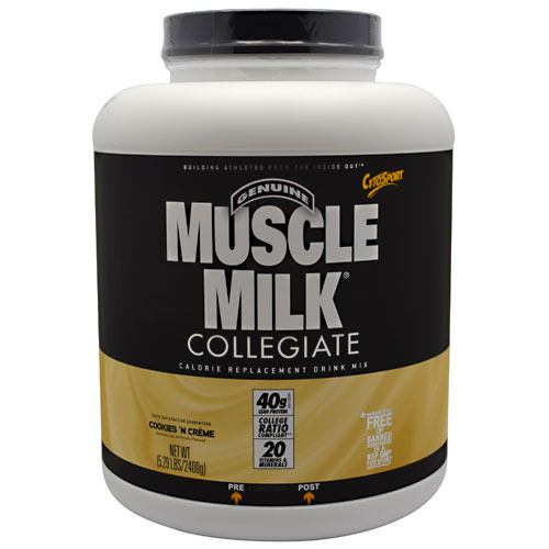 CytoSport Collegiate Muscle Milk - Cookies 'N Creme - 5.29 lb