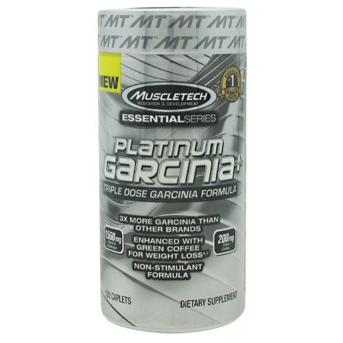 MuscleTech Essential Series Platinum Garcinia Plus - 120 ea