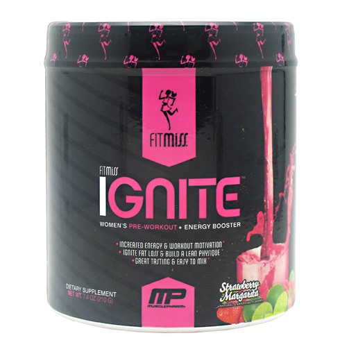 Fit Miss Ignite - Strawberry Margarita - 30 ea