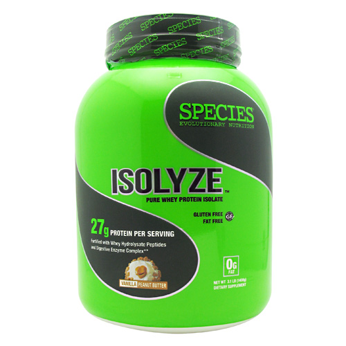 Species Nutrition Isolyze - Vanilla Peanut Butter - 44 ea