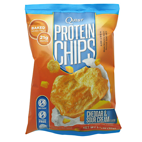 Quest Nutrition Protein Chips - Cheddar & Sour Cream - 16 ea