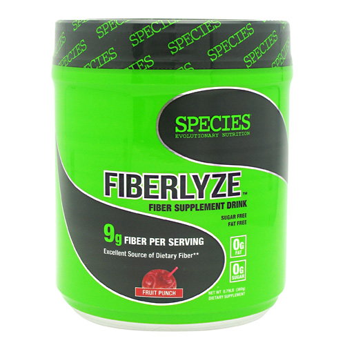 Species Nutrition Fiberlyze - Fruit Punch - 30 ea