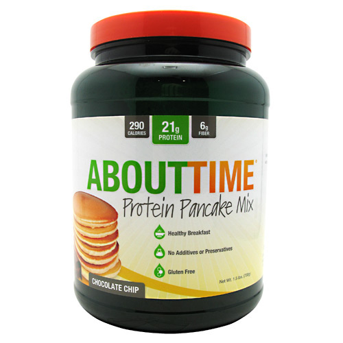 SDC Nutrition About Time Protein Pancake Mix - Chocolate Chip - 10 ea