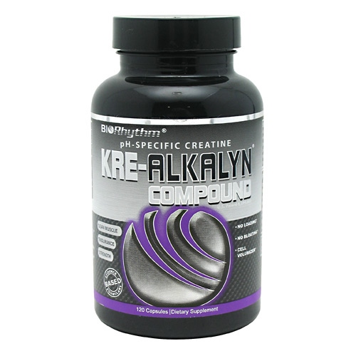 BioRhythm Kre-Alkalyn Compound - 120 ea