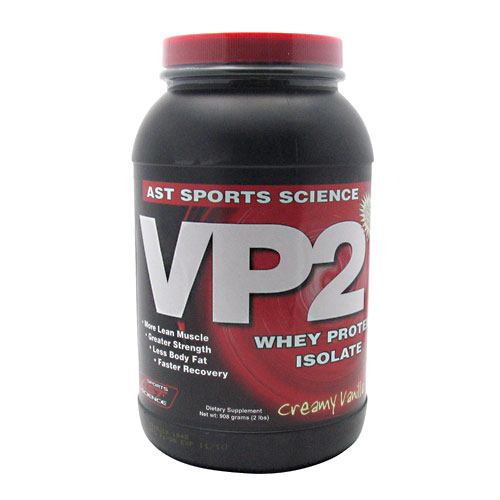 AST Sports Science VP2 Whey Protein Isolate - Creamy Vanilla - 2 lb