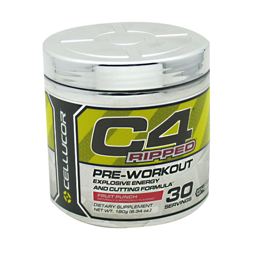 Cellucor C4 Ripped - Fruit Punch - 30 ea