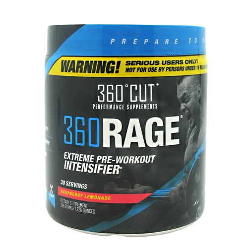 360Cut 360Rage - Raspberry Lemonade - 30 ea