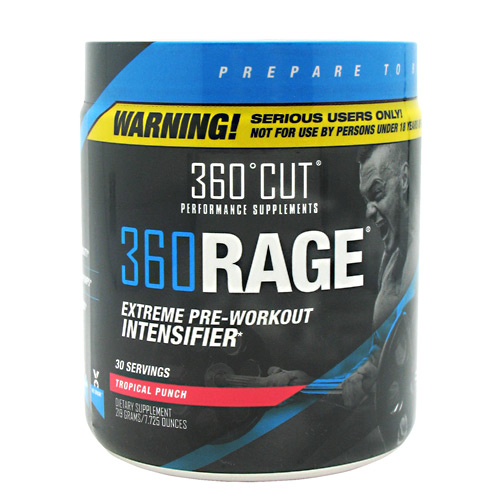 360Cut 360Rage - Tropical Punch - 30 ea