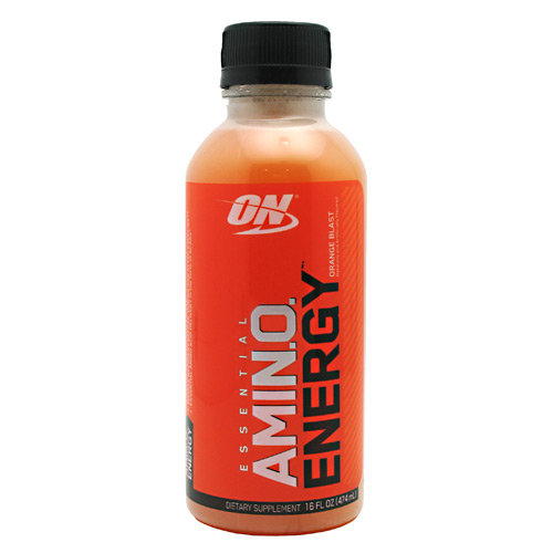 Optimum Nutrition Amino Energy RTD - Orange Blast - 12 ea