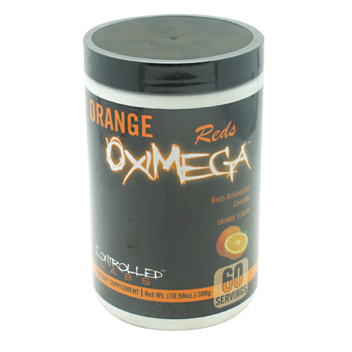 Controlled Labs Orange Oximega Reds - Orange - 60 ea